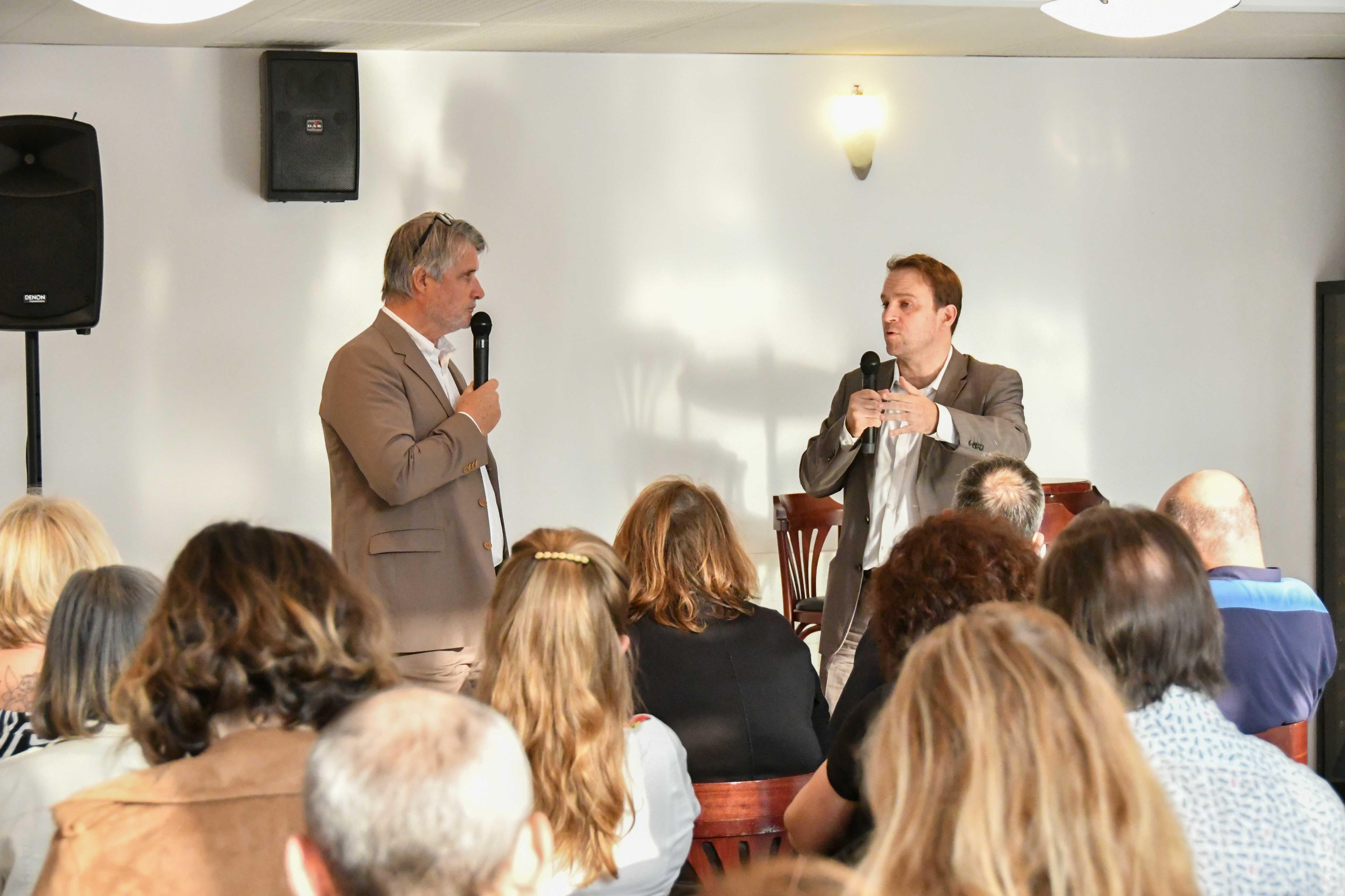 L'intervention de Marc Ferracci a été jugé très intéressante par la majorité des CE présents. Photo Catherine Cros.