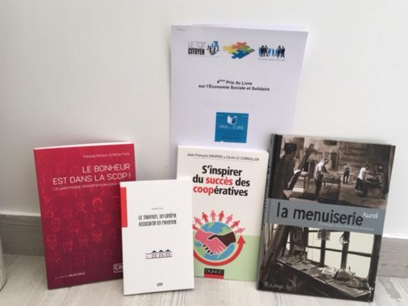 """Les couvertures des 4 ouvrages de la catégorie """" Témoignages """""""