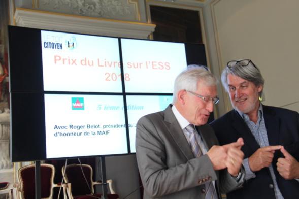 Le nombre des ouvrages sélectionnés est bon !!! Le lancement du Prix 2018 est donc officiel ! Photo : Jean-Paul Berger.