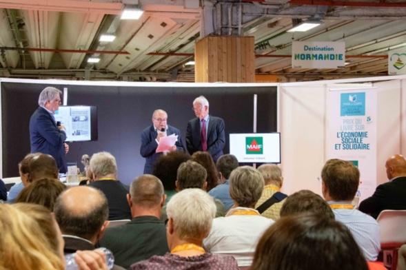 Henri Mazars a souligné l'engagement de la MAIF pour l'ESS - Photo Catherine Cros -