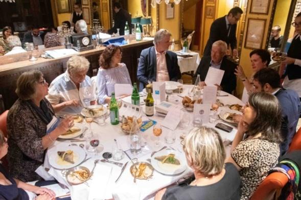 ....Sous les regards bienveillants des autre jurés...Photo Catherine Cros