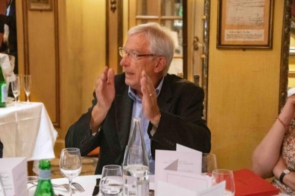 Roger Belot a pris la succession de Claude Alphandéry dès la seconde année de l'organisation du Prix en 2015 - Photo Catherine Cros