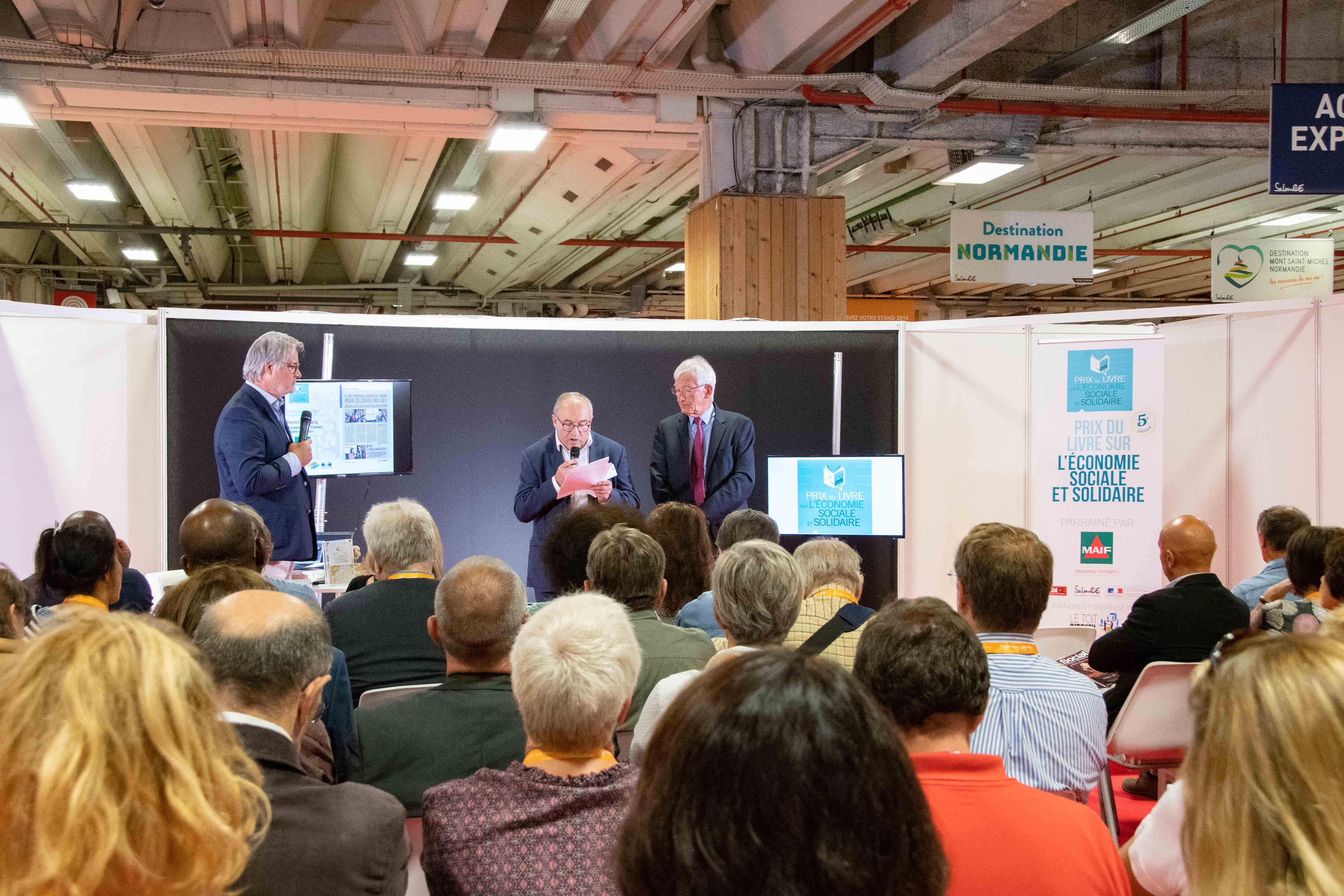 Henri Mazars, s'est félicité du partenariat fort entre la MAIF et le Club des CE Citoyens - Photo Catherine Cros -