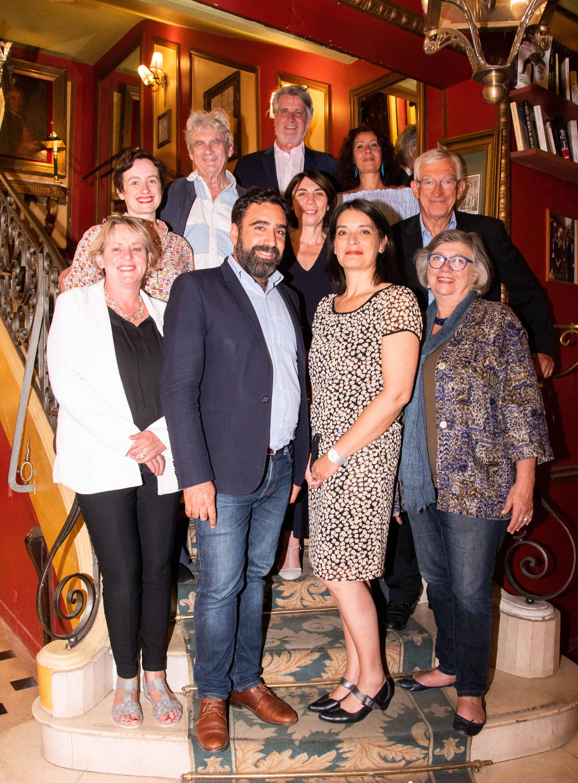 Le Jury 2019 fidèle au Procope et à son célèbre escalier !