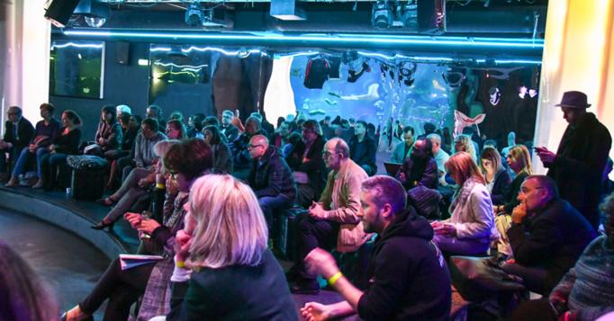 Beaucoup de monde malgré les grèves le 12 avril à l'Aquarium de Paris. Photo : Catherine Cros