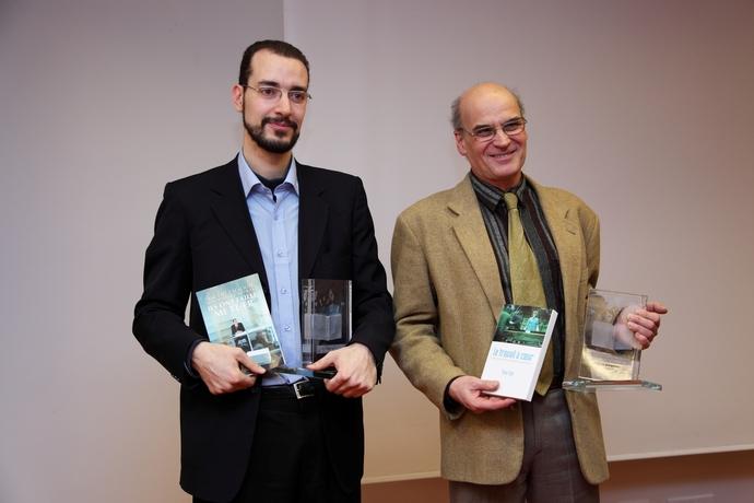Vincent Talaouit et Yves Clot, vainqueurs de cette première édition.