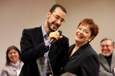 Vincent Talaouit en dédicace lors de la Journée Citoyenne du 6 avril