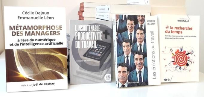 """Les quatre ouvrages de la sélection """" Experts """" - Photo : Agence Relations Presse."""