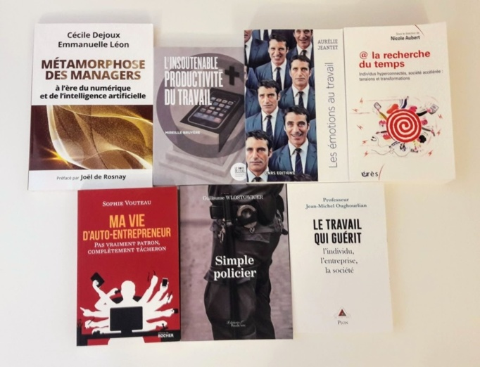 Les 7 livres sélectionnés pour le Prix 2019 - Photo : Agence Relations Presse.