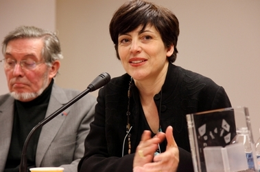 Jean Auroux et Anna Notarianni, président et membre du Jury Experts