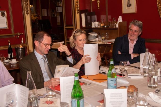 Bernard Vivier et Marie Pezé deux jurés fidèles - photo Catherine Cros