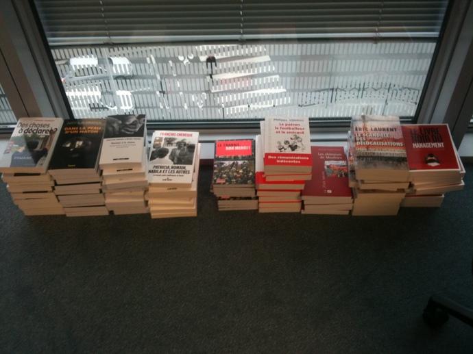 Deuxième édition : les livres sont arrivés !
