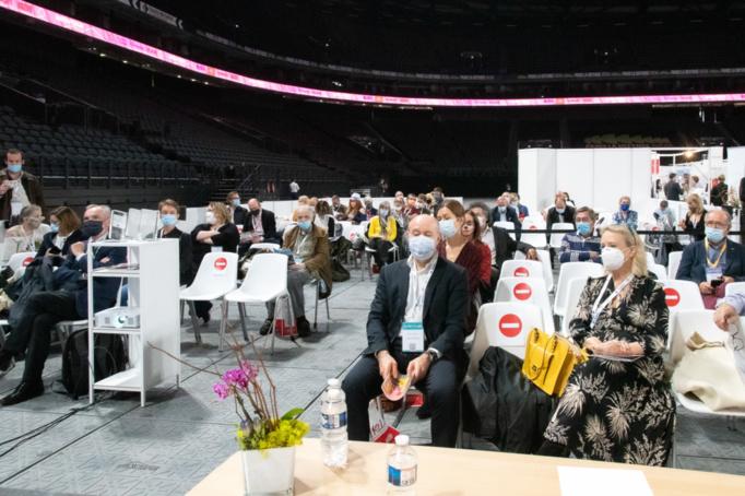 Malgré des règles sanitaires particulières, il y avait beaucoup de monde invité par le Club des CSE Citoyens qui a fait le plein de ses adhérents, de ses partenaires et de ses amis pour honorer les lauréats du prix qu'il organise depuis 10 ans - Photo : Catherine Cros -