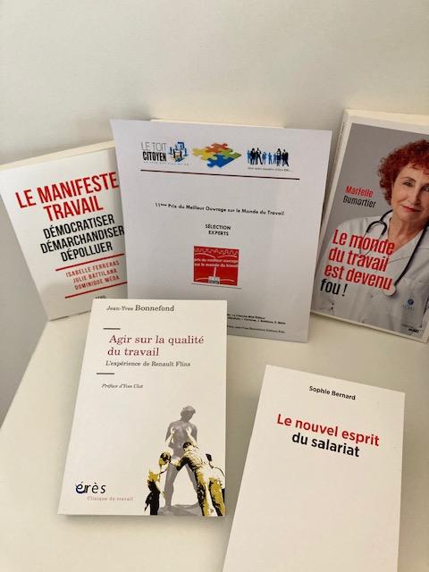 Les livres sélectionnés pour l'édition 2021 du Prix !