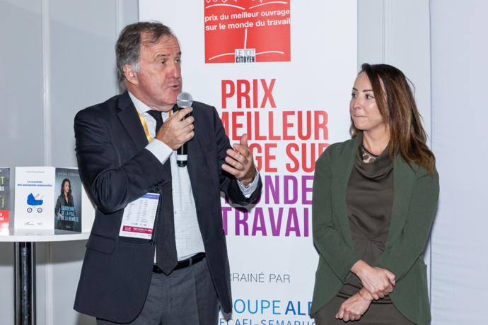 Pierre Ferracci a exprimé l'unanimité du jury et le coup de cœur pour ce livre - Photo : Jacques Martin -