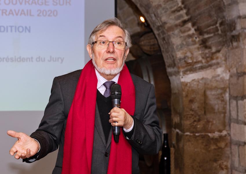 Jean Auroux toujours aussi passionné et pertinent dans l'analyse du monde du travail et des CSE - Photo Jacques Martin
