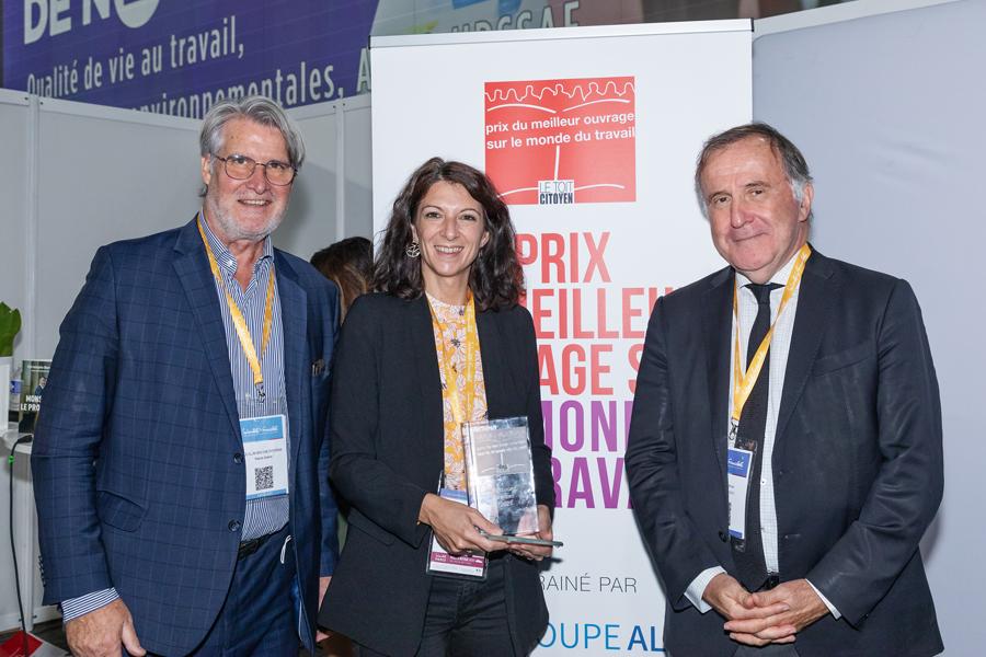 De bien belles lauréates et de très beaux ouvrages raccords avec l'époque pour une 11ème édition réussie - Photo : Jacques Martin -