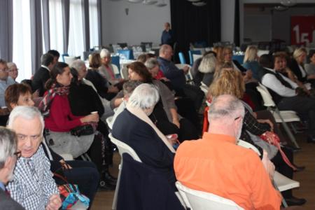 Beaucoup d'invités pour la dernière Matinée Citoyenne de l'année -Photo : Jean-Paul Berger