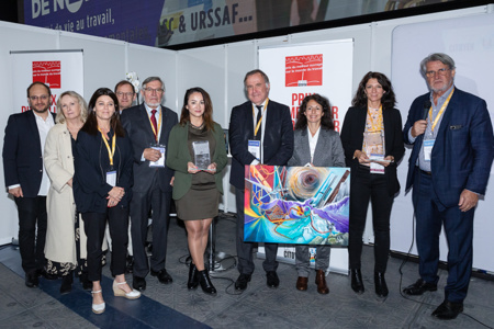Succès pour le 10 ème anniversaire du Prix du Meilleur Ouvrage sur le Monde du Travail. Reportage complet sur le blog www.toitcitoyen.com/mondedutravail