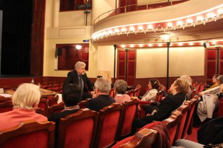 """Didier Bezace nous avait présenté sa nouvelle mise en scène en 2017 """" Le cas Sneidjer """" au Théâtre de l'Atelier - Photo Jean-Paul Berger"""