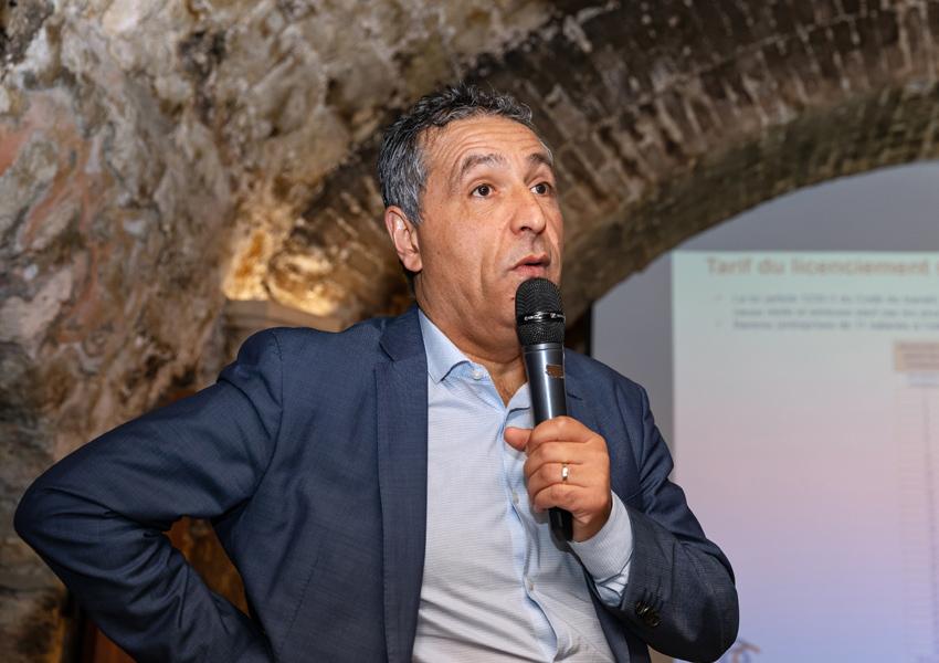 Abdel Benchabbi fondateur de CE Consultant a bien résumé les prochaines échéances de la nouvelle loi sur les Prud'hommes - Photo Jacques Martin